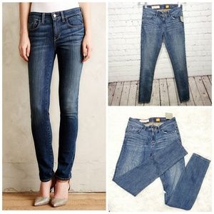 Pilcro NWT  anthro slim ankle The stet  jeans  25